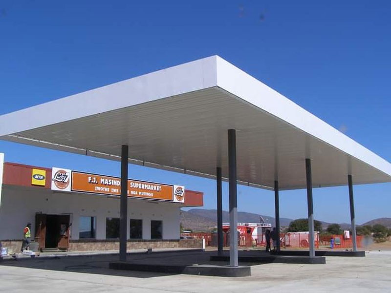 Rezoning for a filling station land use permit by town planners